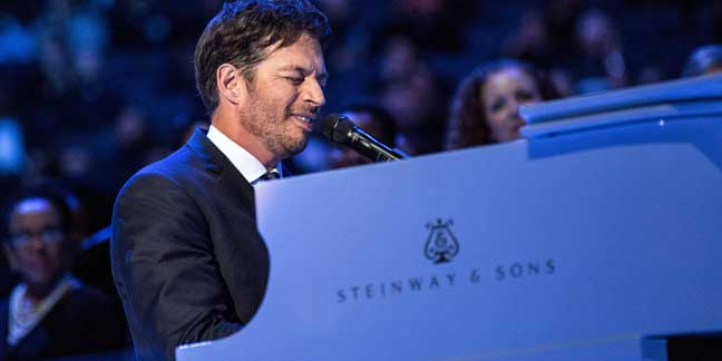Catholic entertainer Harry Connick Jr. in party mode on new TV show