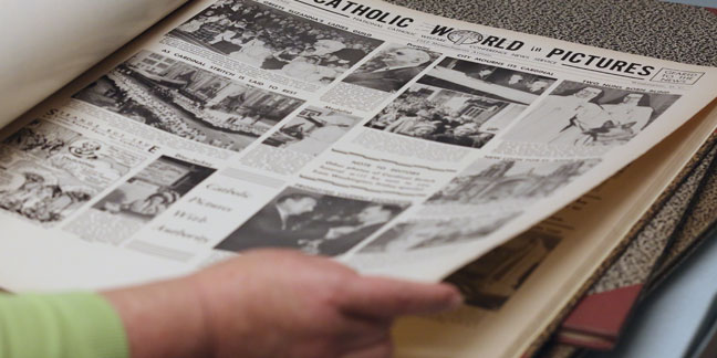 Digitization project preserving century of Catholic newspapers, newsfeeds