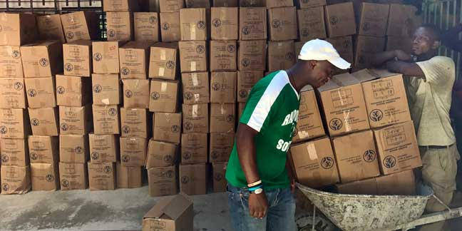 St. Matthew parishioners, Missionaries of the Poor send relief aid to Haiti