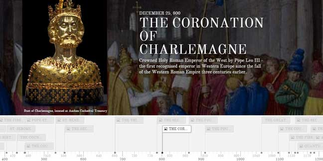 Explore the history of the Church online