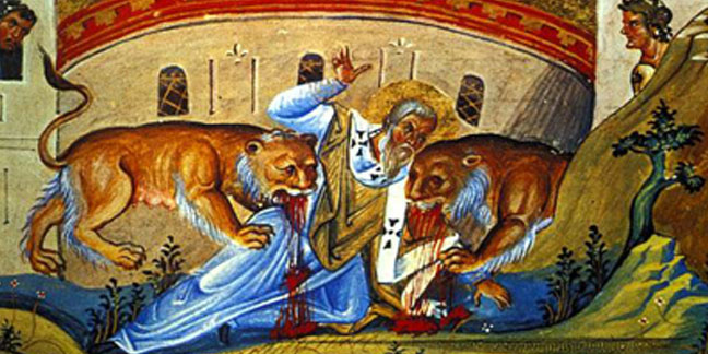 St Ignatius Of Antioch Apostolic Father Who Coined The