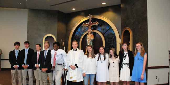 Charlotte Catholic High School is an educational community centered in the  Roman Catholic faith, which teaches individuals to serve as Christians in  our ...